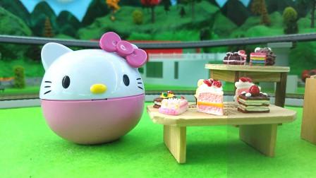 爱偷吃蛋糕的凯蒂猫