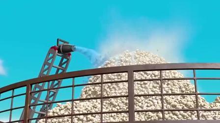 汪汪队:火龙的技能不一般,玉米变成爆米花山,吃起来香脆可口