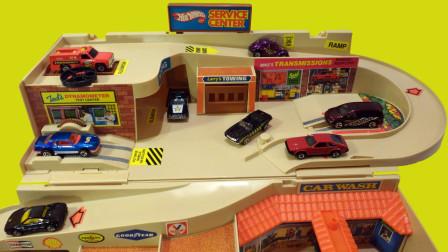 城市商场停车场玩具全新拆箱