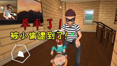 疯狂小偷:草率了,我竟然被小偷给逮到了!