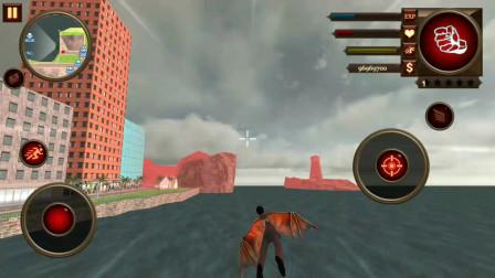 变种人英雄:小狸开摩托被机器人袭击能飞上空中吗