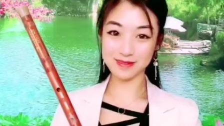 《涛声依旧》竹笛版,E调一节瑾儿乐坊专业精品笛子