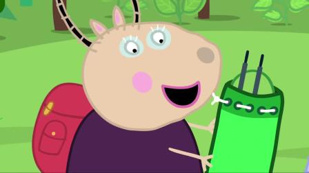 小猪佩奇:佩奇找伙伴,好朋友苏西有搭档了,佩奇可怎么办呢