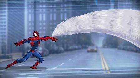 """蛛丝发射器失灵,面对毒液的攻击,蜘蛛侠意外开启了""""终极武器"""""""