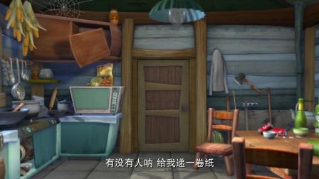 熊出没:强哥把猫弄丢了,现在没了猫的陪伴,他好孤单啊