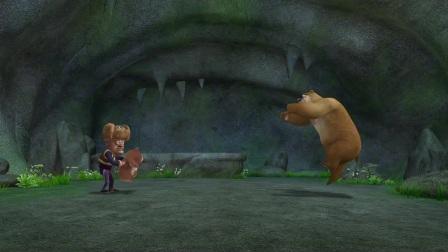 熊出没:强哥也太坏了吧,让熊二打熊大,不然就毁掉熊二的玩具