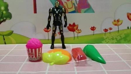 萌娃玩具:我买了好多吃的东西