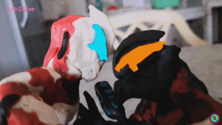 《捷德奥特曼》定格动画特效短片!粘土制作