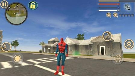 蜘蛛侠绳索英雄,参加多人竞速,跑车自动让行