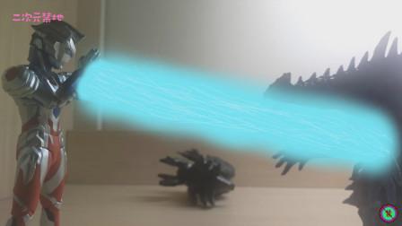 《泽塔奥特曼》SHF玩具开箱效果展示!阿尔法利刃形态