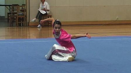 2006年全国青少年武术套路锦标赛 女子长拳 005 雷小凤