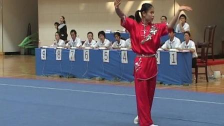 2006年全国青少年武术套路锦标赛 女子长拳 006 侯天齐