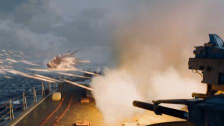 这才叫战舰近战防空导弹防御火炮截杀高速掠海弹道导弹!
