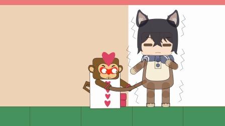 迷你世界动画211:弹到蘑菇林遇见柴郡猫