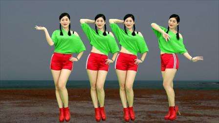 忧伤情歌广场舞《免失志》大众时尚欢快舞步,简单又好看!