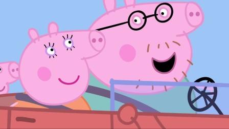 小猪佩奇:猪爸爸不愧是猪,吃完就睡,也不管自己躺在哪