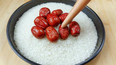大米和红枣炒一炒,每天喝一碗,三高平稳身体棒,真是长知识了