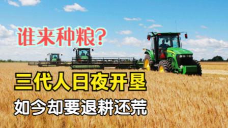 """北大仓退耕还""""荒"""",是历史开倒车吗?黑土地为何不能再种粮食?"""