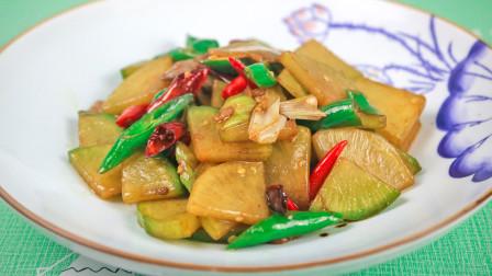 萝卜炒肉这样做太香了,简单的食材,地道的农家风味,特别下饭