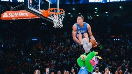 NBA扣篮大赛的十大满分扣篮!最后一个让戈登成为了无冕之王!