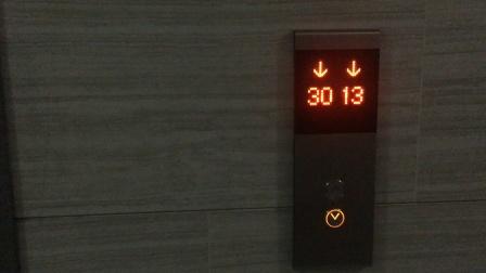 (2021.3)宜城风景花园1B-2单元货梯电梯运行