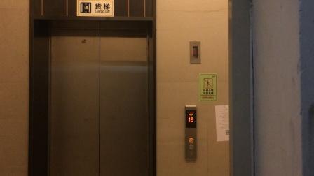 (2021.3)创城.宜城风景花园3号楼1单元货梯电梯运行(上)