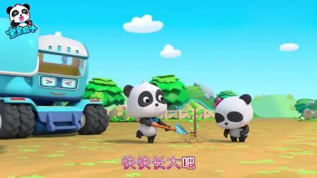 孩子爱看动画宝宝巴士:乐于助人的工程车