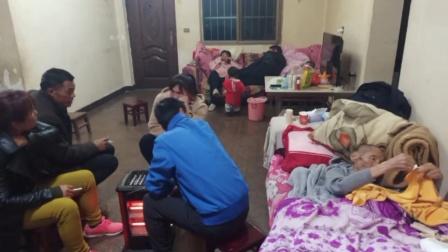 云南省宣威市羊场镇兔场村委会新德村,徐周克的父亲感冒好些了啊!
