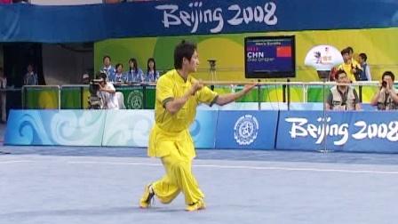 北京2008武术套路比赛 男子器械 男子棍术 002 赵庆建
