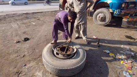 为什么卡车要定期更换轮胎?