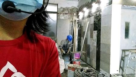 贴第一块瓷砖的技术方法