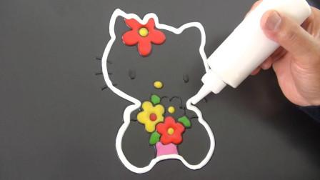 """当画家在煎饼机上""""画画"""",会发生什么?网友:人才!"""