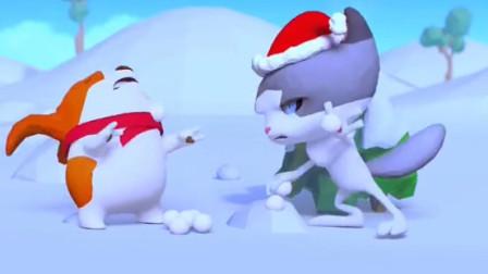 见过这样打雪仗吗,太逗了!