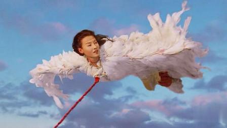 这是我见过最浪漫的放风筝,这一刻张柏芝是快乐的!