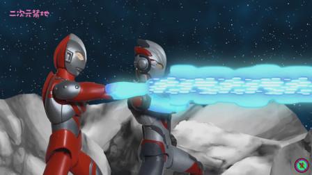 《奥特曼》定格动画特效短片!最终决战-合成怪兽