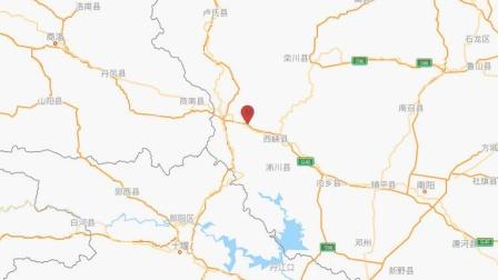 河南南阳市西峡县发生3.0级地震 震源深度7千米