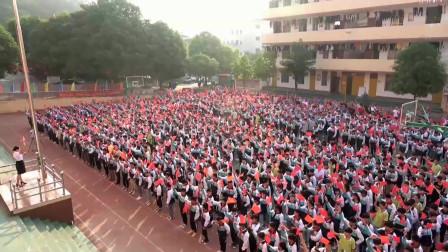回眸青葱校园,上思二中师生合唱《我爱你中国》