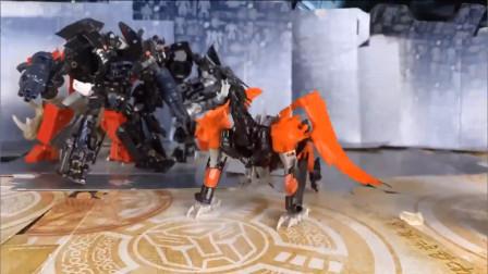 变形金刚玩具,变形金刚历史上极为重要的强力角色野兽猎人冲云霄