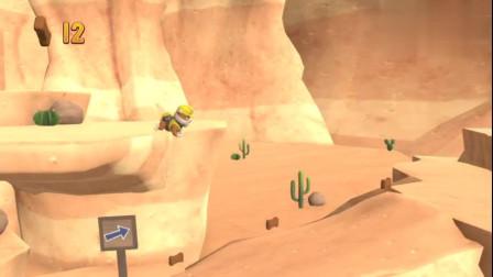 救援游戏 山上掉落大石头砸毁山路,汪汪队小砾赶去救援