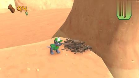 救援游戏 汪汪队灰灰在山上跑步,发现山下有一枚金狗牌
