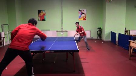 乒乓球正手拉球时,如何通过拉出不转球迷惑对手,导致对手失误?