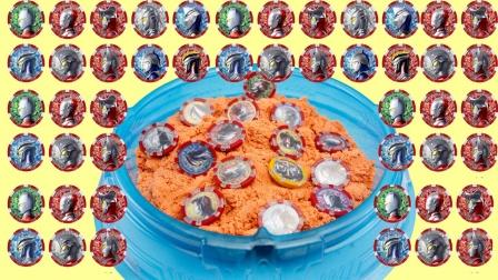 帮泽塔解救封印在太空沙里的奥特曼勋章