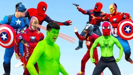 自制超级英雄:超级英雄之间的对决