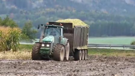 为什么重型拖拉机在泥泞农田中比汽车好用?