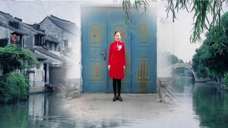 内蒙古乌海明珠广场舞,原创编舞(瞌儿)编舞淡然微笑