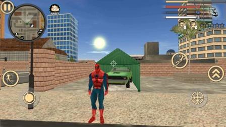 蜘蛛侠绳索英雄,飙车竞速,倒车入库
