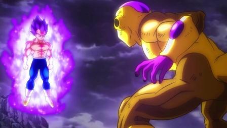龙珠超同人,破坏神贝吉塔诞生,黄金弗利萨终于遇到对手了