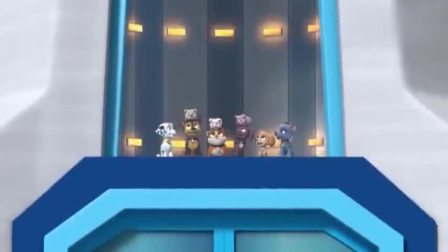 汪汪队:毛毛小猪合作演出,成功上演小猪叠罗汉,这技能挺不错