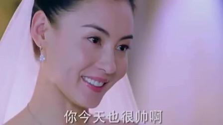 张柏芝穿婚纱的样子真的好美!