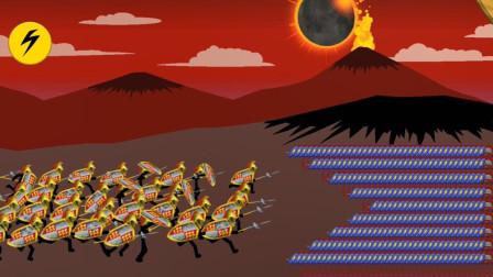 火柴人战争遗产:4个矛盾兵夺金矿